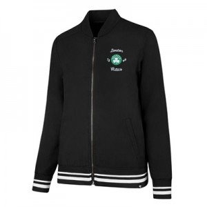 """Boston Celtics 47 Melrose Satin Jacket – Womens"""