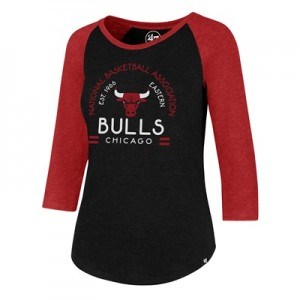 """Chicago Bulls 47 Club Raglan Long Sleeve T-Shirt – Womens"""