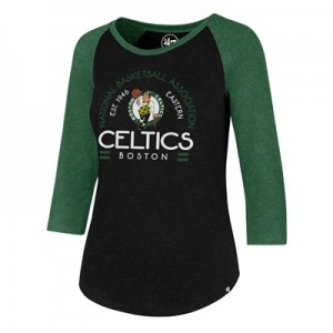 """Boston Celtics 47 Club Raglan Long Sleeve T-Shirt – Womens"""