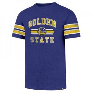 """""""Golden State Warriors 47 Knockaround Club Stripe T-Shirt – Mens"""""""
