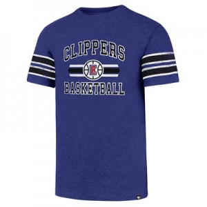 """LA Clippers 47 Knockaround Club Stripe T-Shirt – Mens"""