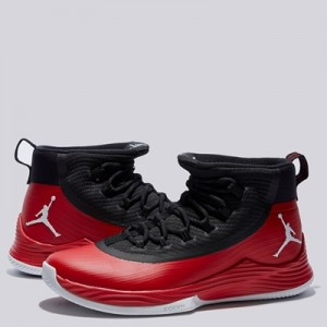 """Jordan Ultra Fly 2 Basketball Shoe – University Red/White-Black – Mens"""