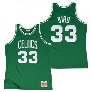 """Boston Celtics Larry Bird Hardwood Road Classics Swingman Jersey – Men"""