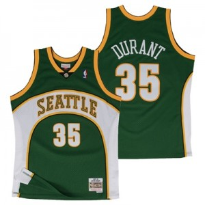 """Seattle Supersonics Kevin Durant Hardwood Classics Road Swingman Jerse"""