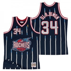 """Houston Rockets Hakeem Olajuwon Hardwood Classics Road Swingman Jersey"""