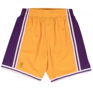 """""""Los Angeles Lakers Hardwood Classics Swingman Short – Mens"""""""
