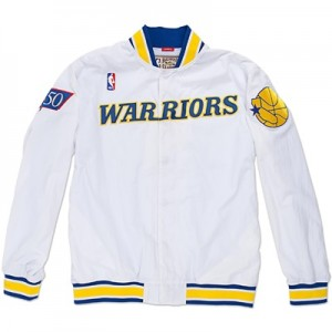 """Golden State Warriors Hardwood Classics 1996-97 Authentic Warm-Up Jack"""