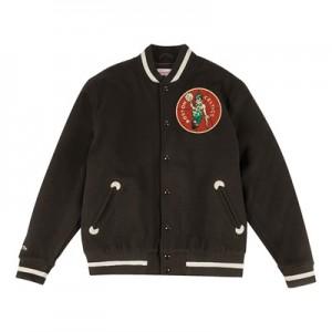 """Boston Celtics Hardwood Classics In The Stands Varsity Jacket – Mens"""