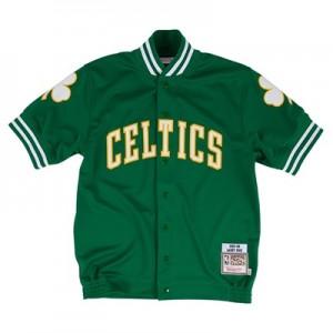 """Boston Celtics Hardwood Classics Authentic Shooting Shirts – Mens"""