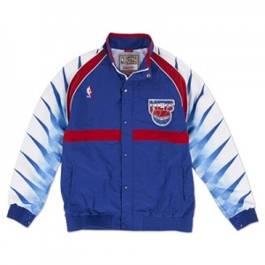 """New Jersey Nets Hardwood Classics 1993-94 Authentic Warm-Up Jacket – M"""