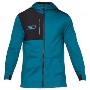 """Under Armour SC30 Performance Warm-Up Jacket – Bayou Blue – Mens"""