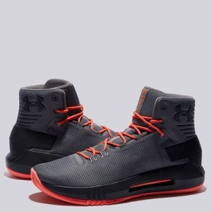 """Under Armour Drive 4 Basketball Shoe – Graphite – Mens"""