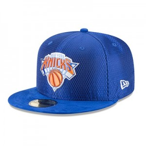 """""""New York Knicks New Era 2017 Official On-Court 59FIFTY Fitted Cap"""""""