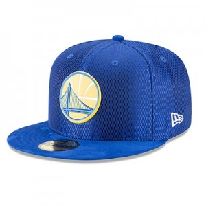 """Golden State Warriors New Era 2017 Official On-Court 59FIFTY Fitted Ca"""