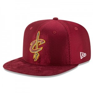 """Cleveland Cavaliers New Era 2017 Official On-Court 9FIFTY Snapback Cap"""