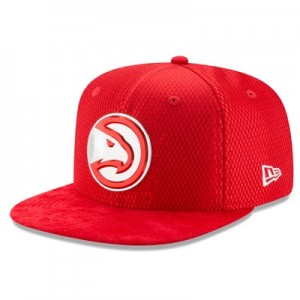 """Atlanta Hawks New Era 2017 Official On-Court 9FIFTY Snapback Cap"""