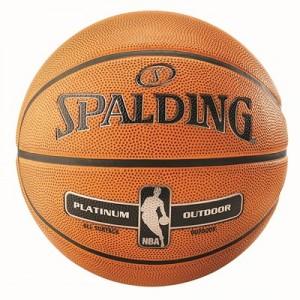 """Spalding NBA Platinum Outdoor Basketball – Size 7"""