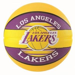 """Spalding NBA Los Angeles Lakers Team Basketball – Size 7"""