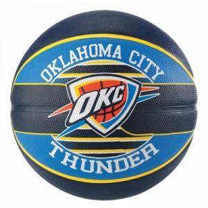 """Spalding NBA Oklahoma City Thunder Team Basketball – Size 7"""