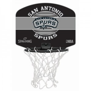 """Spalding NBA San Antonio Spurs Mini Backboard & Ball"""