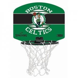 """Spalding NBA Boston Celtics Mini Backboard & Ball"""