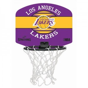 """Spalding NBA Los Angeles Lakers Mini Backboard & Ball"""