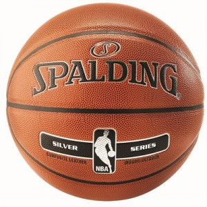 """Spalding NBA Silver Indoor/Outdoor Basketball – Size 7"""