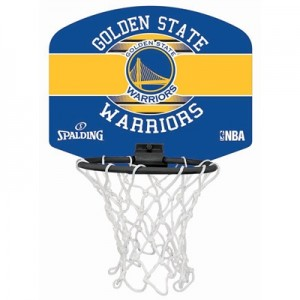 """Spalding NBA Golden State Warriors Mini Backboard & Ball"""