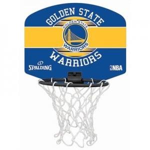 """Spalding NBA Golden State Warriors Mini Backboard & Ball"""