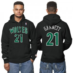 """Minnesota Timberwolves Kevin Garnett Hardwood Classics Distressed Name"""