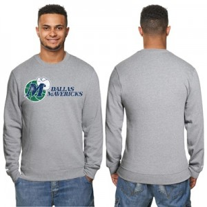 """Dallas Mavericks Hardwood Classics Distressed Print Crew Neck Sweatshi"""