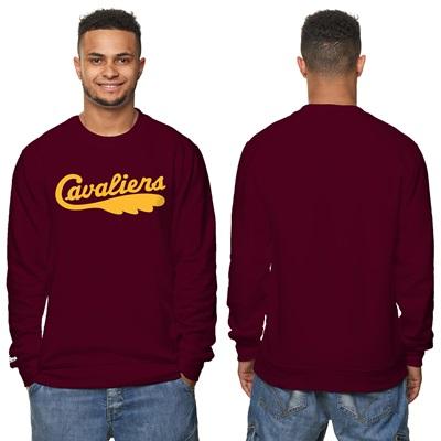 """Cleveland Cavaliers Hardwood Classics – Fashion Wordmark Crew Neck Swe"""