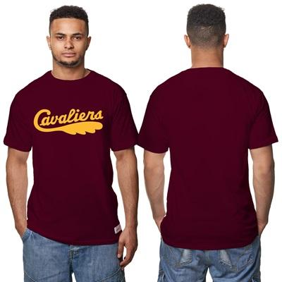 """Cleveland Cavaliers Haedwood Classics – Fashion Wordmark T-Shirt – Cla"""
