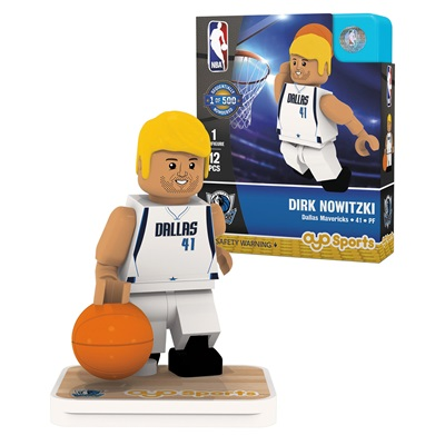 """Dallas Mavericks Dirk Nowitzki Minifigure"""
