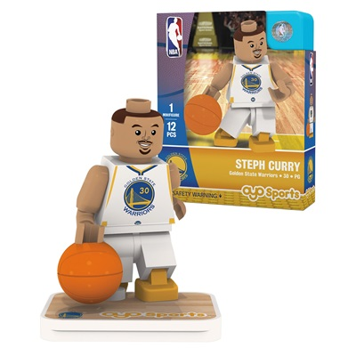 """Golden State Warriors Stephen Curry Minifigure"""