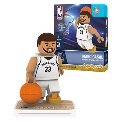 """""""Memphis Grizzlies Marc Gasol Minifigure"""""""