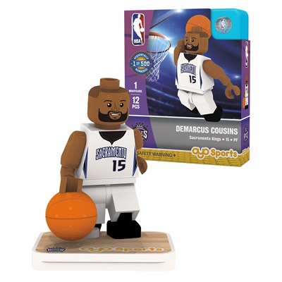 """Sacramento Kings DeMarcus Cousins Minifigure"""