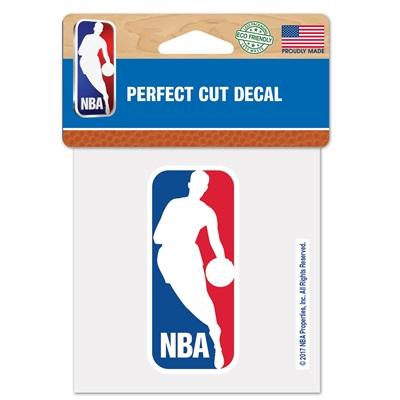 """NBA Logo Perfect Cut Decal 4 x 4"""