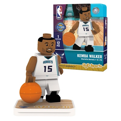 """Charlotte Hornets Kemba Walker Minifigure"""