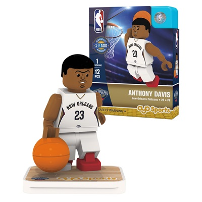 """New Orleans Pelicans Anthony Davis Minifigure"""