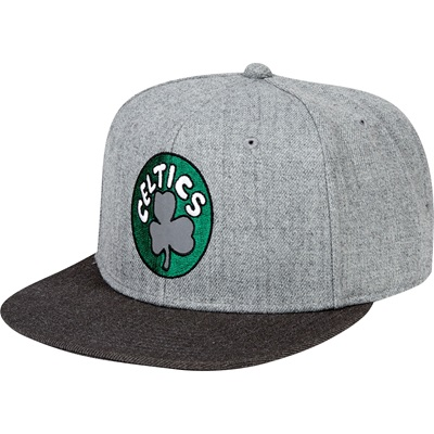 """Boston Celtics Hardwood Classics Embroidered Logo Snapback Cap"""