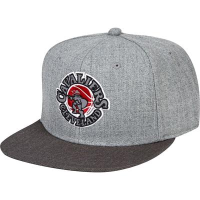 """Cleveland Cavaliers Hardwood Classics Embroidered Logo Snapback Cap"""