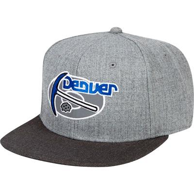 """Denver Nuggets Hardwood Classics Embroidered Logo Snapback Cap"""