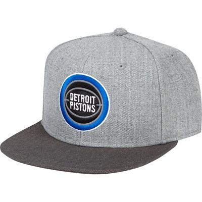 """Detroit Pistons Hardwood Classics Embroidered Logo Snapback Cap"""