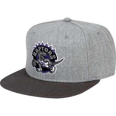 """Toronto Raptors Hardwood Classics Embroidered Logo Snapback Cap"""