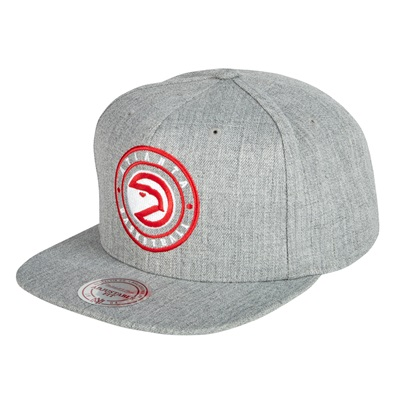 """Atlanta Hawks Hardwood Classics Circle Patch Snapback Cap"""