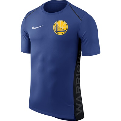"""Golden State Warriors Nike Hyperelite Short Sleeve Shooter – Rush Blue"""