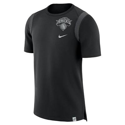 """""""New York Knicks Nike Baller Short Sleeve Top – Black – Mens"""""""