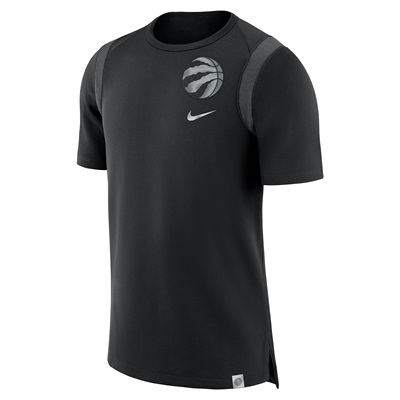"""Toronto Raptors Nike Baller Short Sleeve Top – Black – Mens"""