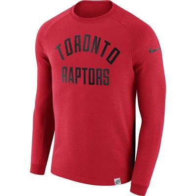 """Toronto Raptors Nike Modern Crew Sweatshirt – University Red – Mens"""